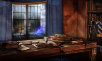Quiet Ravenclaw Common Room