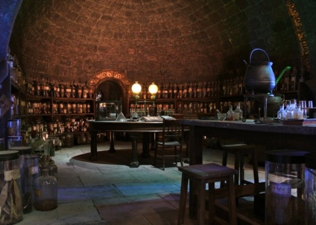 potions classroom at hogwarts audio atmosphere