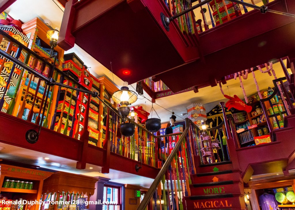 Weasleys Wizard Wheezes Shop In Diagon Alley Audio Atmosphere
