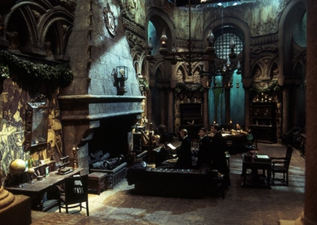 The Slytherin Common Room Harrypotter