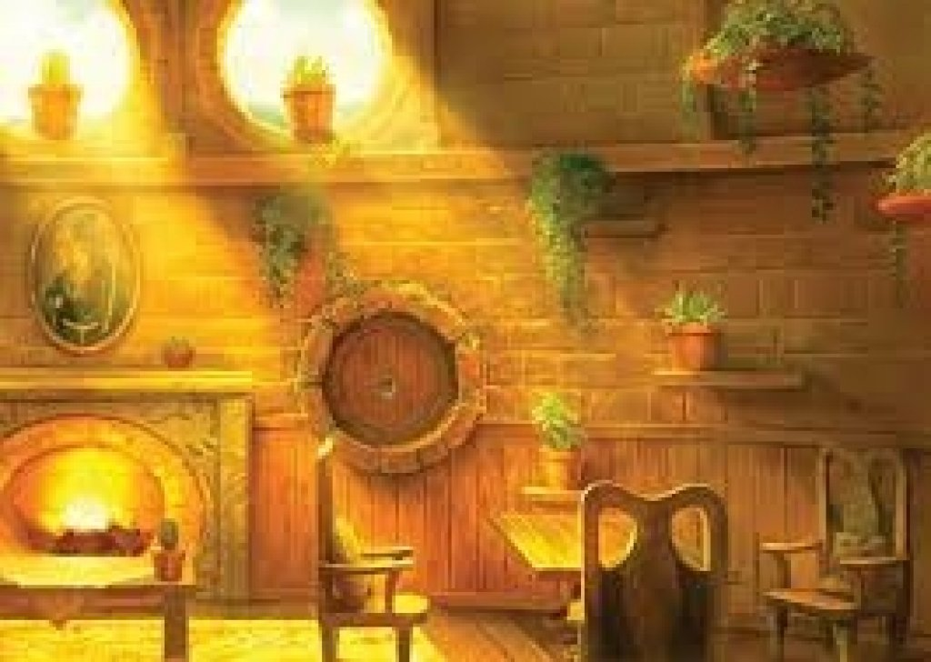 Hufflepuff Common Room During Rain Audio Atmosphere