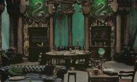 quiet night in the slytherin dormitory