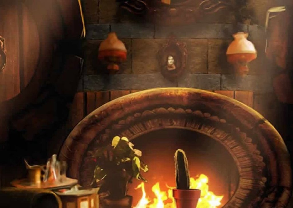 Fireplace Design fireplace sounds : Hufflepuff Common Room audio atmosphere