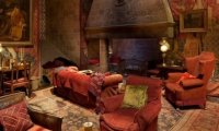 Gryffindor Common rooms fireplace crackling