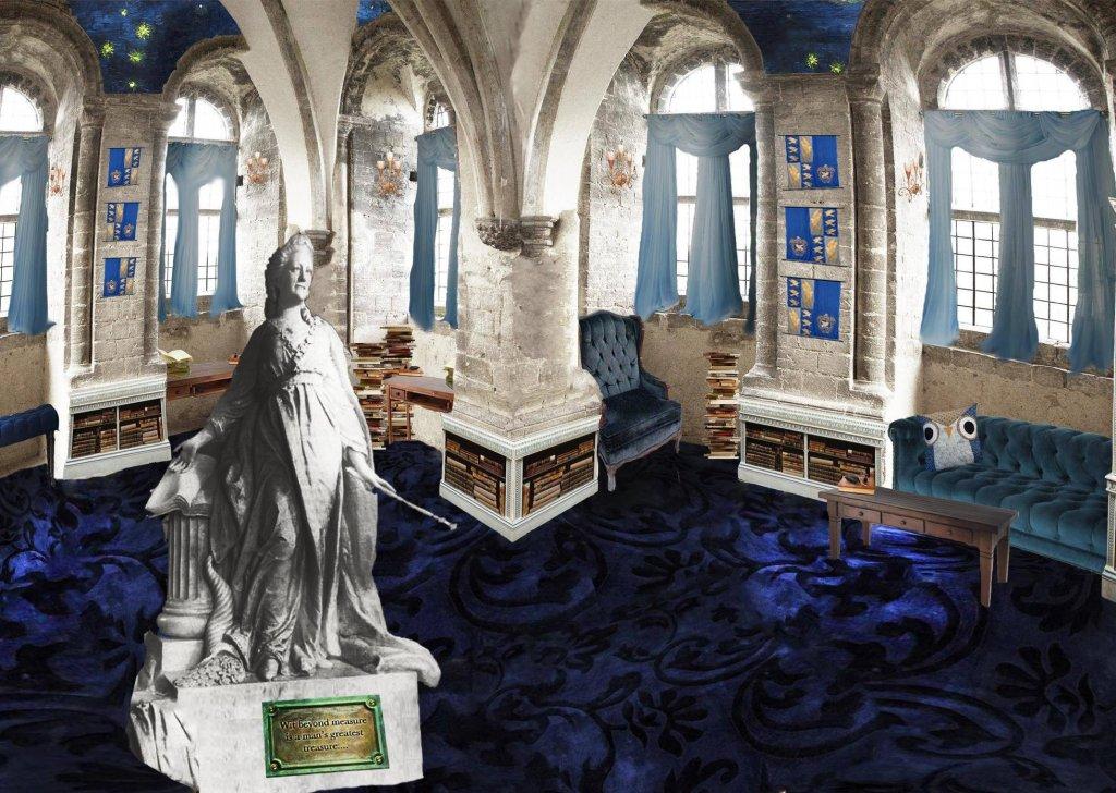 Ravenclaw Living Room