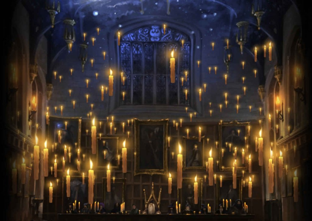 The Great Hall Hogwarts Audio Atmosphere