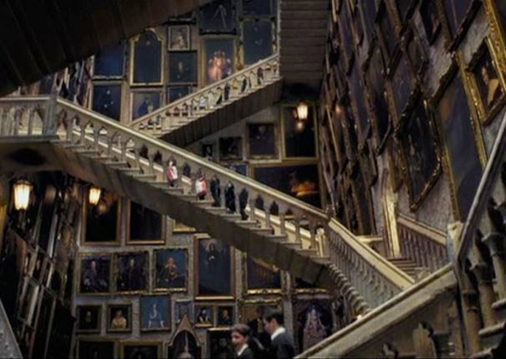 Main Hall Of Moving Staircases Hogwarts Castle Audio