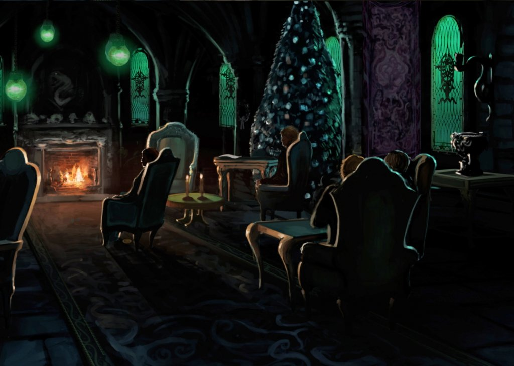 Christmas In The Slytherin Common Room Audio Atmosphere