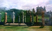 Quidditch Match at Hogwarts