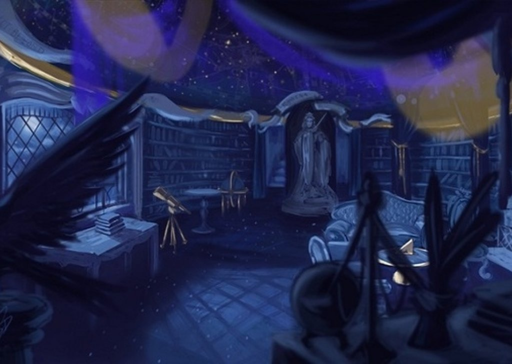 Ravenclaw Common Room Tranquil audio atmosphere