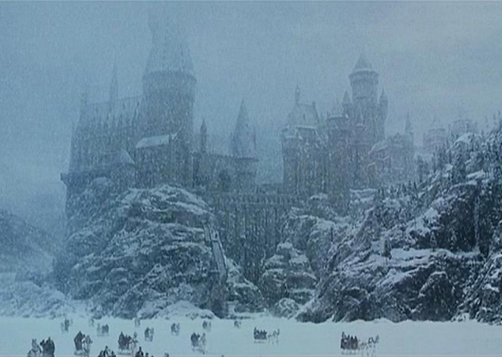 Hogwarts Grounds In Winter Audio Atmosphere