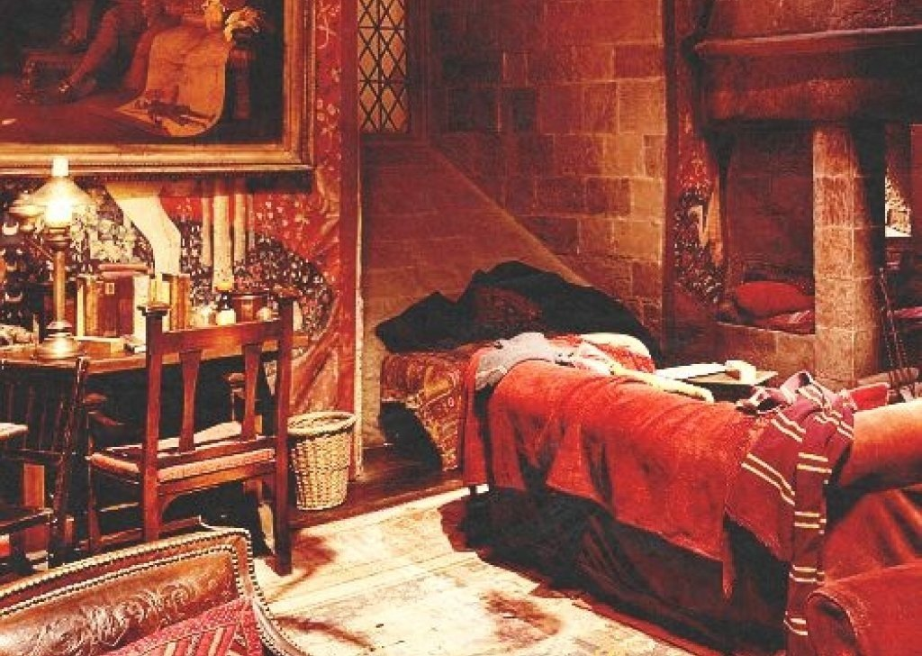 Gryffindor Common Room At Night Audio Atmosphere
