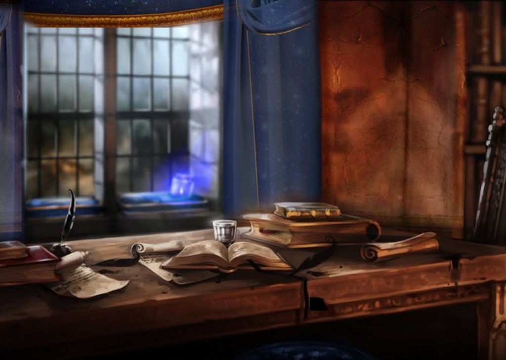 Cozy Ravenclaw Tower Common Room On A Rainy Day Audio